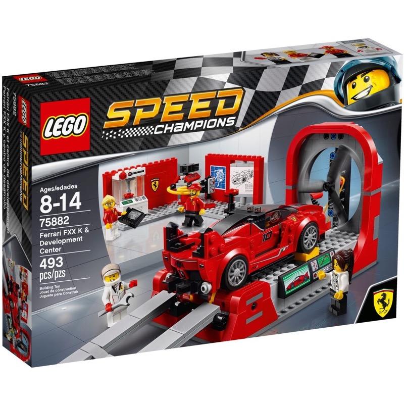 LEGO Speed Champions 75882 Ferrari & Development Center