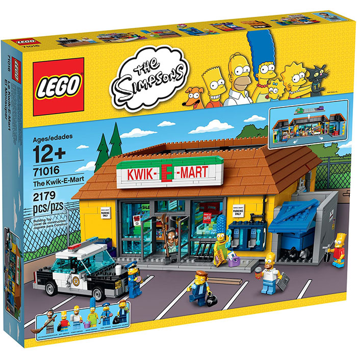 LEGO Simpsons 71016 The Kwik-E-Mart (Minor Damaged Box)