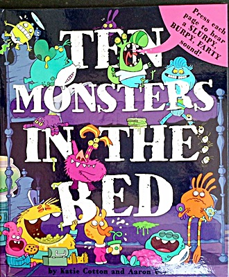 Ten Monsters In A Bed Sound Book