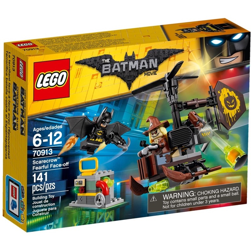 LEGO The Lego Batman Movie 70913 Scarecrow™ Fearful Face-off