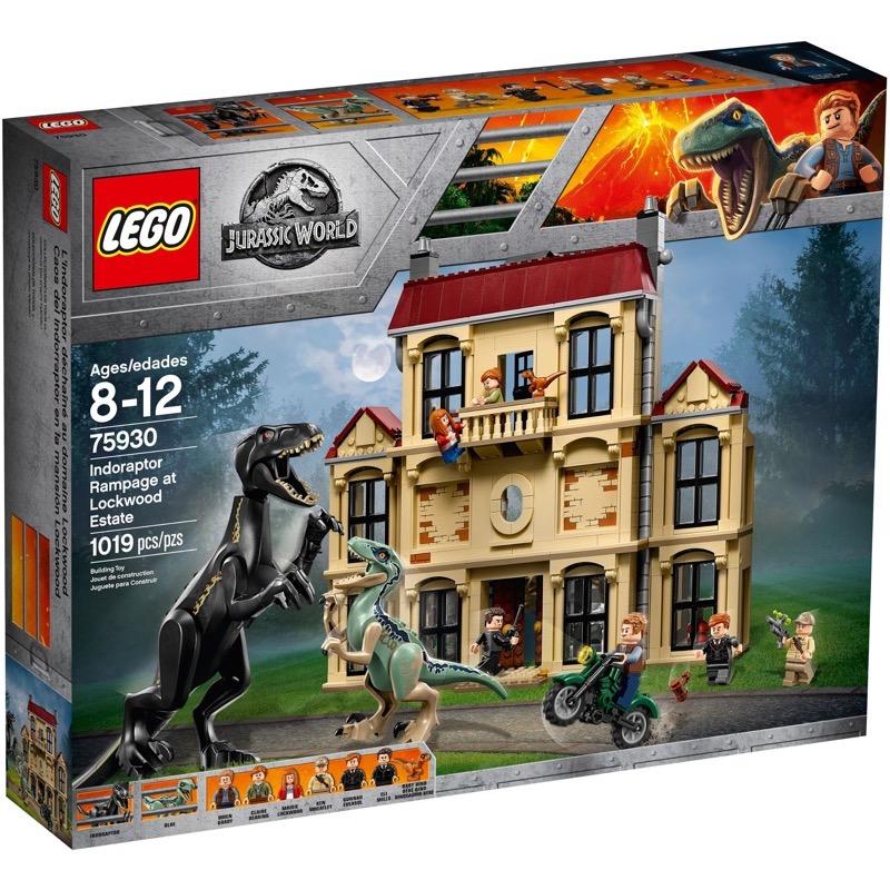 LEGO Jurassic World 75930 เลโก้ Indoraptor Rampage at Lockwood Estate