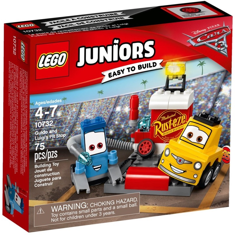 LEGO Juniors 10732 Guido and Luigi's Pit Stop