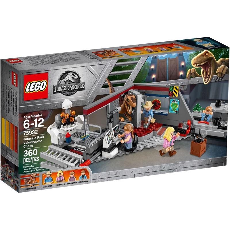 LEGO Jurassic World 75932 เลโก้ Jurassic Park Velociraptor Chase