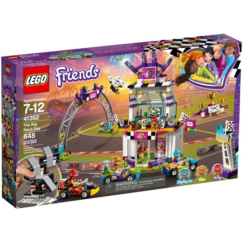 LEGO Friends 41352 เลโก้ The Big Race Day