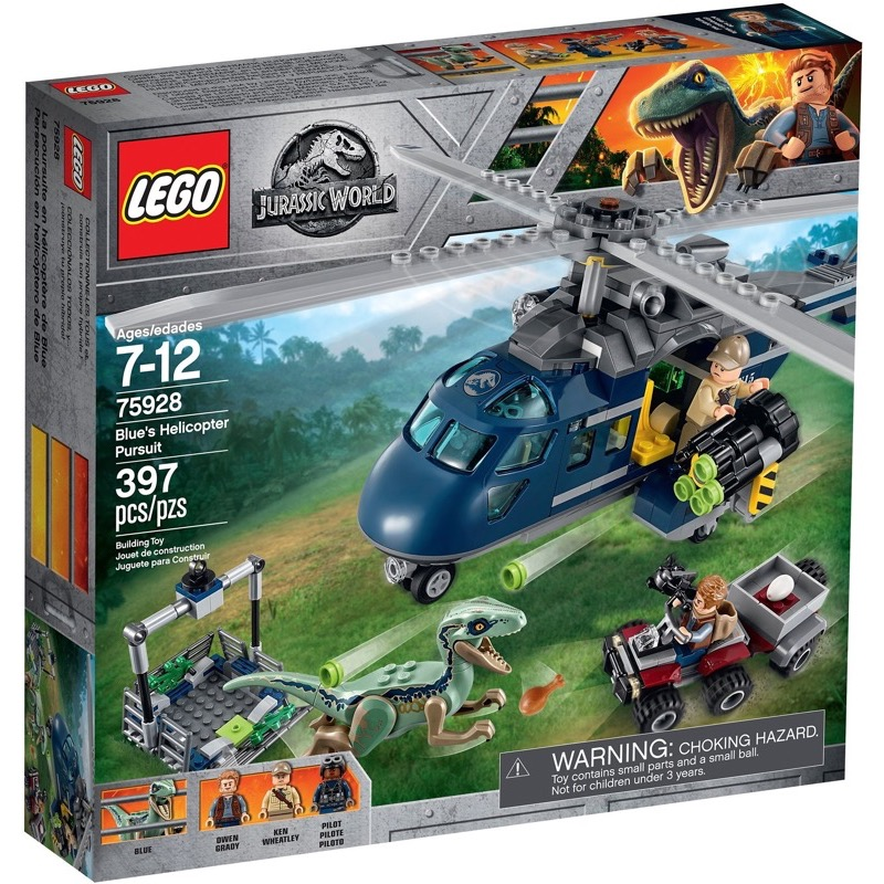 LEGO Jurassic World 75928 เลโก้ Blue's Helicopter Pursuit