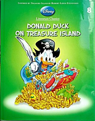 Donald Duck on Treasure Island