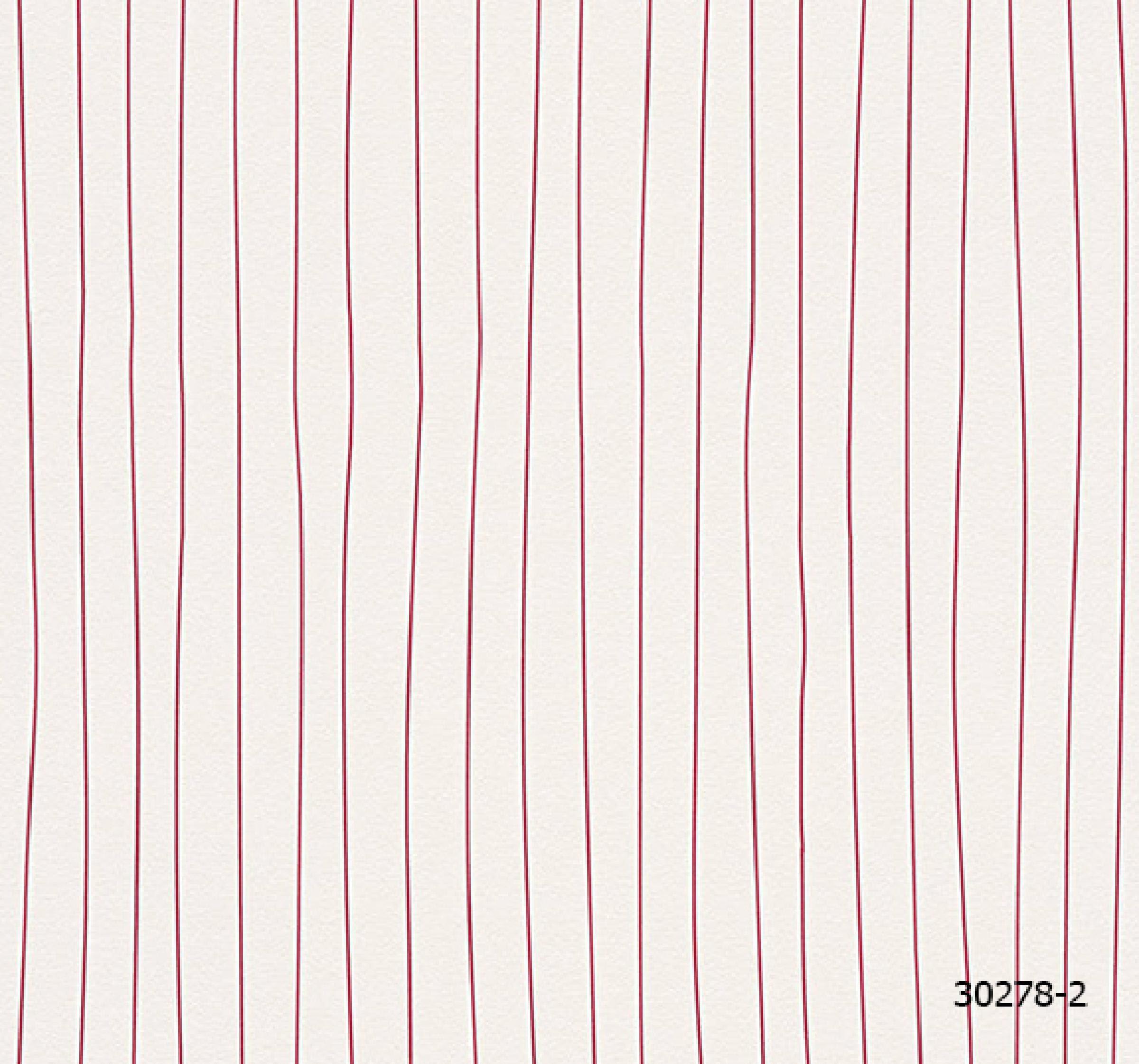 วอลเปเปอร์ลายโมเดิร์น ดีไซน์ลายเส้น ขาว-แดง