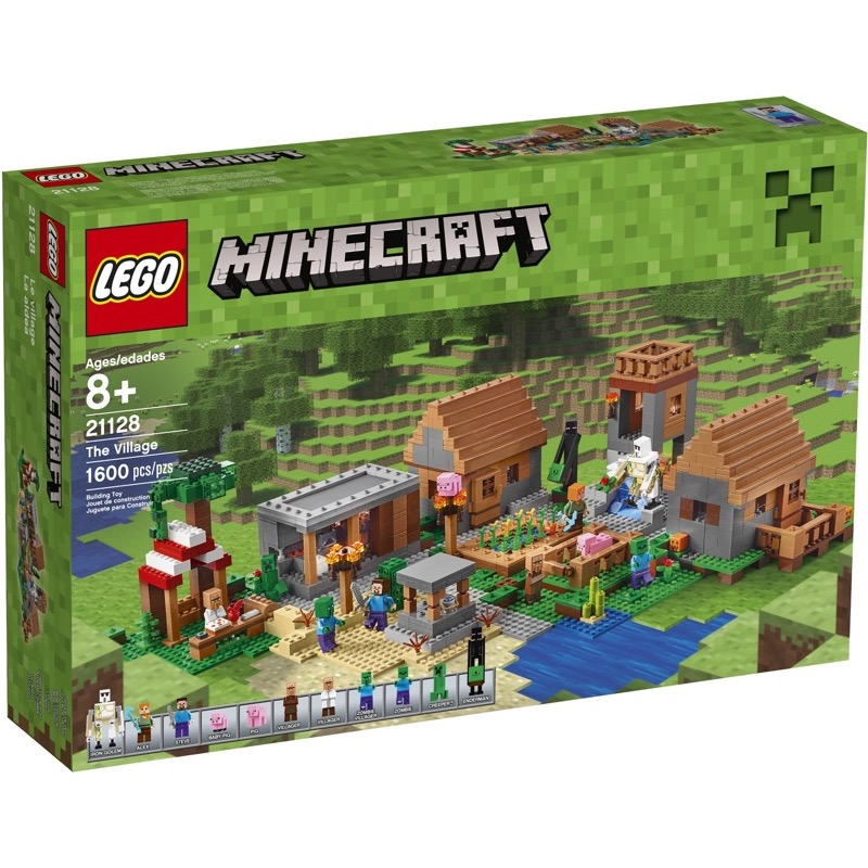 LEGO Minecraft 21128 The Village (Minor Damaged Box)
