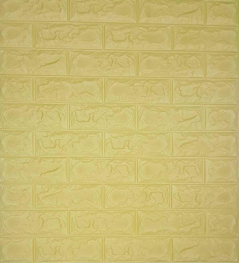วอลเปเปอร์ 3 มิติ สีเหลืองพาสเทล