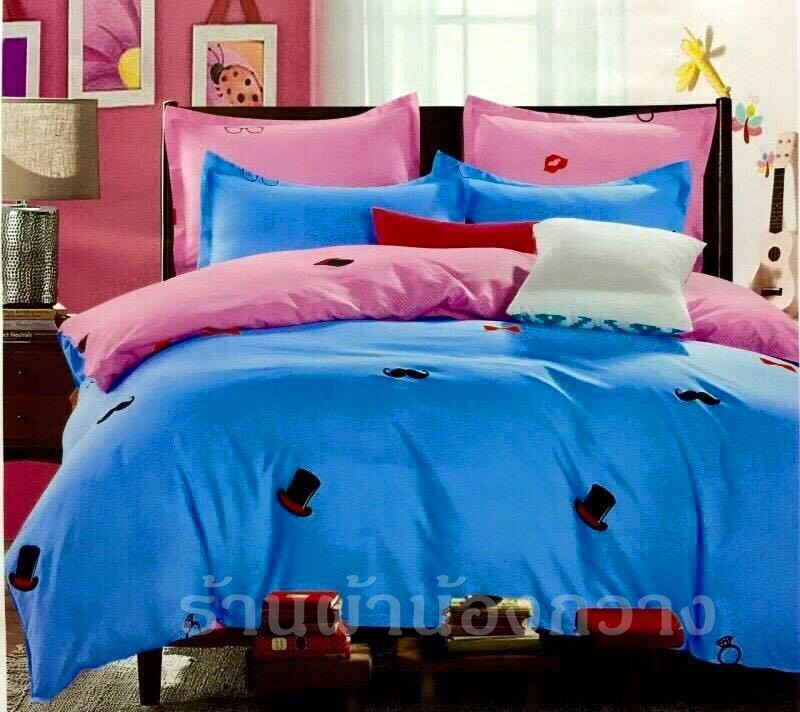 ผ้าปูที่นอน สีพื้น ลายใหม่ -8