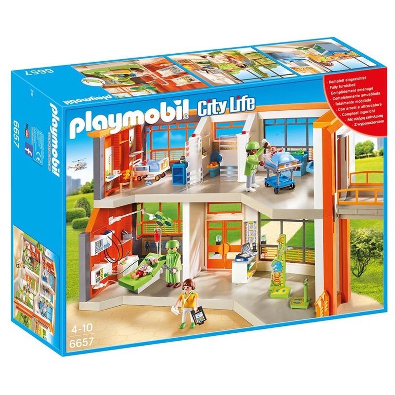 PLAYMOBIL 6657 Furnished Children's Hospital