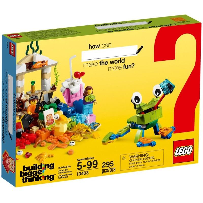 LEGO Classic 10403 World Fun