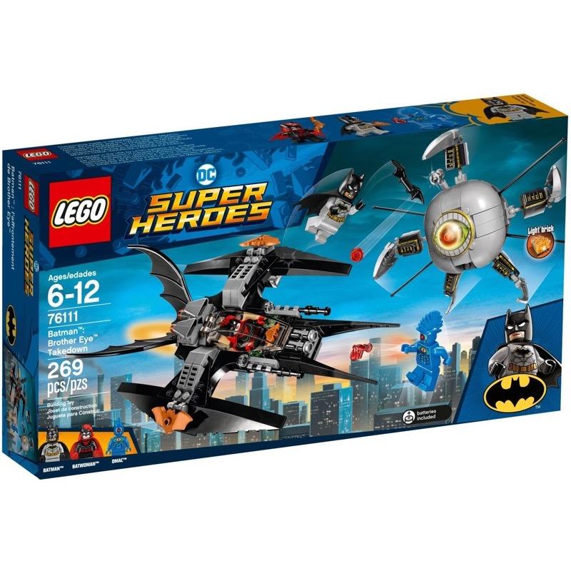 LEGO Super Heroes 76111 Batman: Brother Eye Takedown