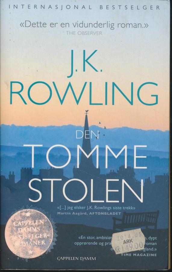 J.K.ROWLING DEN TOMME STOLEN