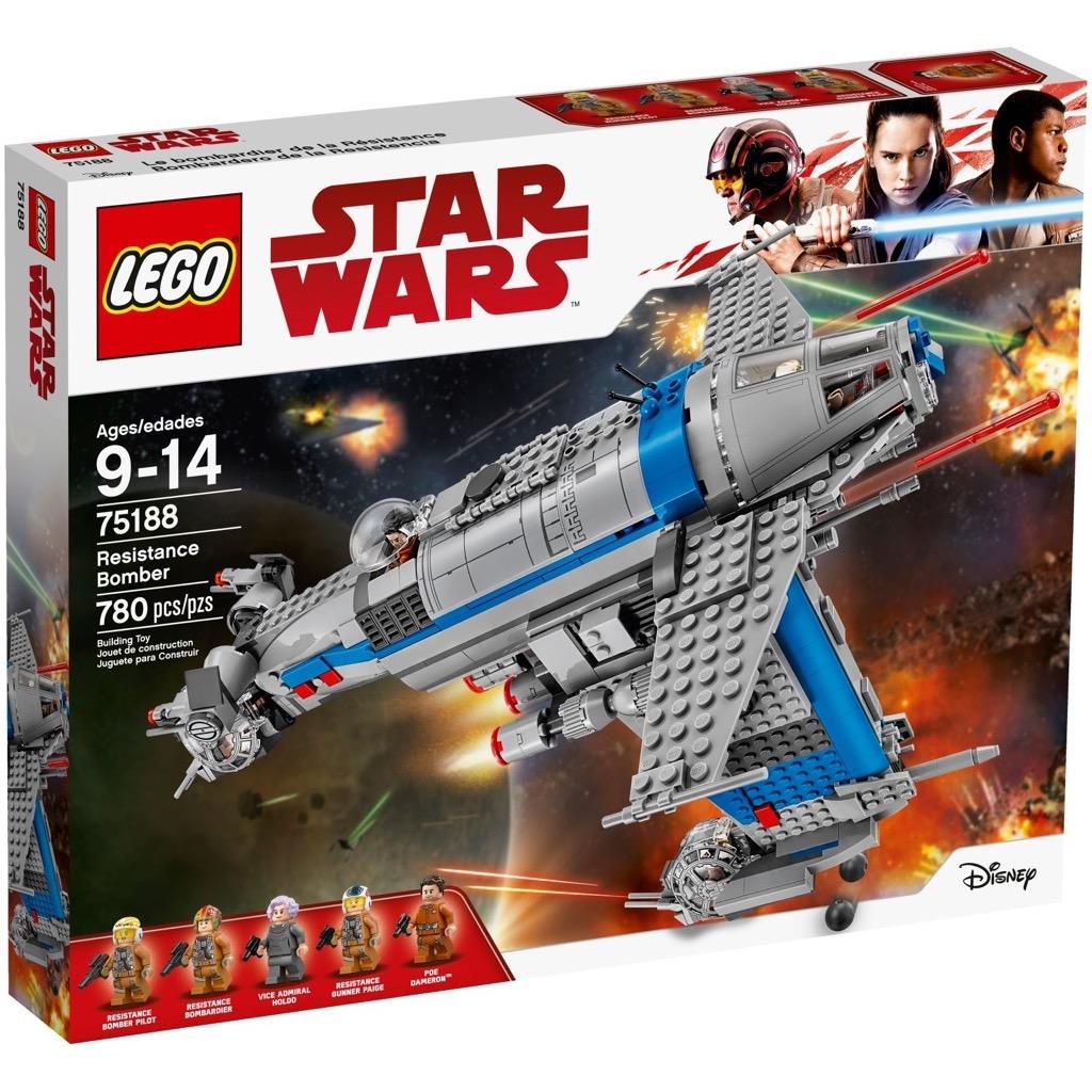 LEGO Star Wars 75188 Resistance Bomber