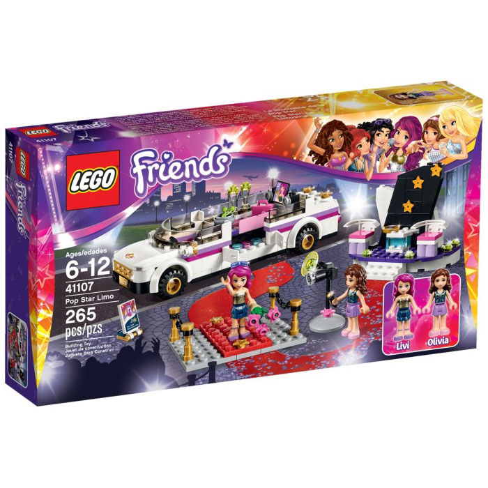 LEGO Friends 41107 Pop Star Limo