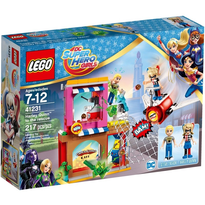 LEGO Super Heroes Girls 41231 Harley Quinn to the Rescue