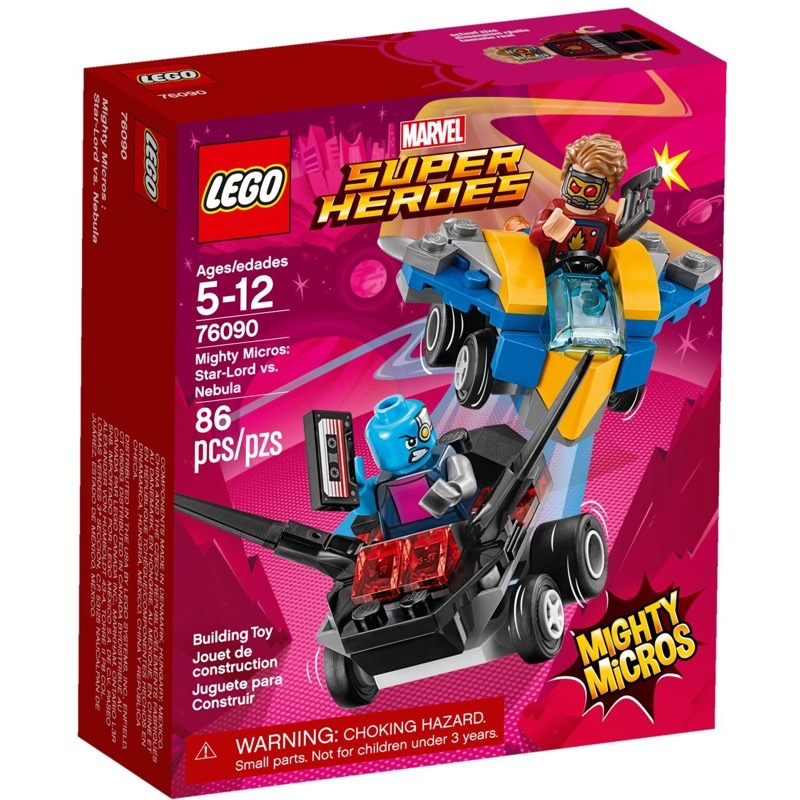 LEGO Super Heroes 76090 เลโก้ Mighty Micros: Star-Lord vs. Nebula
