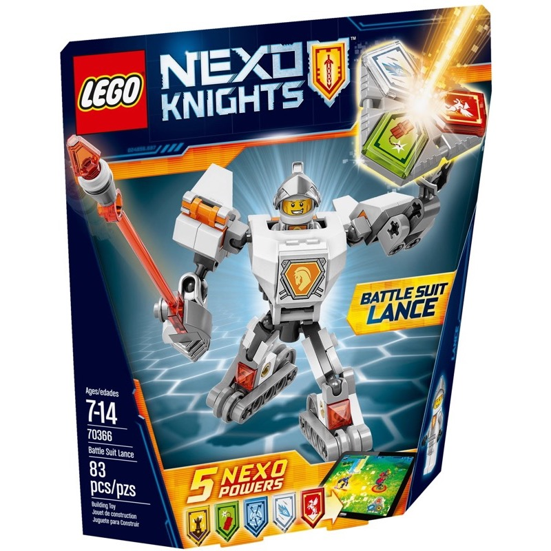 LEGO Nexo Knights 70366 Battle Suit Lance