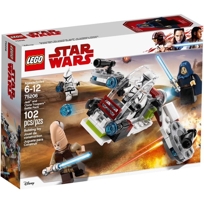LEGO Star Wars 75206 เลโก้ Jedi and Clone Troopers Battle Pack