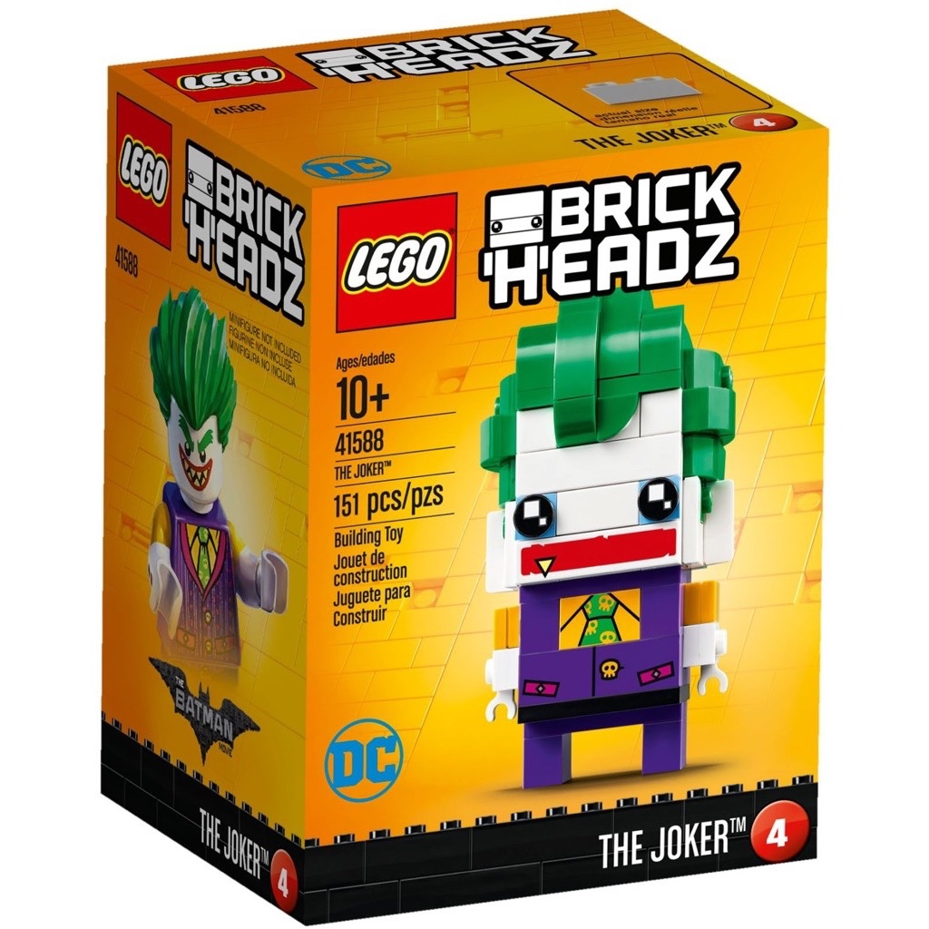 LEGO BrickHeadz 41588 The Joker