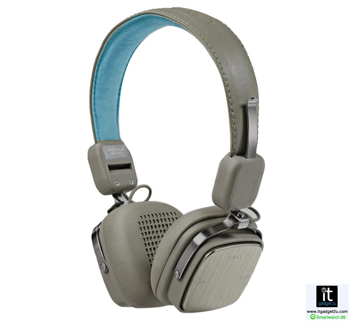 หู ฟัง บลูทูธ หูฟัง ครอบหู สเตอรีโอ Remax-200HB สีเทา ราคา 1,090 บาท