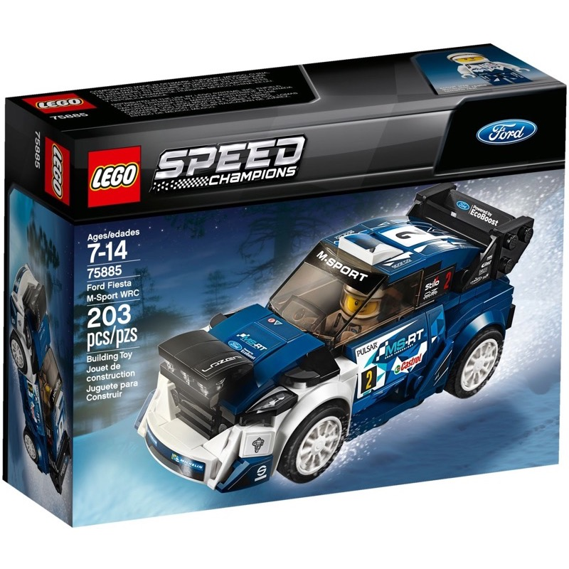 LEGO Speed Champions 75885 เลโก้ Ford Fiesta M-Sport WRC