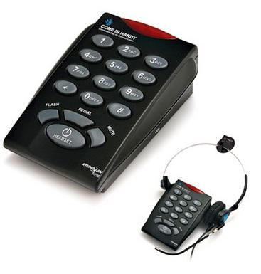 โทรศัพท์พร้อมชุดหูฟัง Headset Telephone รุ่น T-750