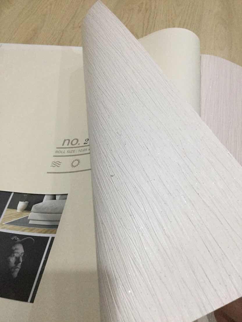วอลเปเปอร์ลายเรียบ ลายพื้น ออกแบบเรียบหรู สีขาว 59-512