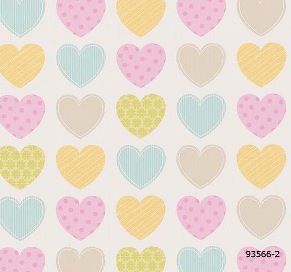 วอลเปเปอร์ ลายรูปหัวใจ