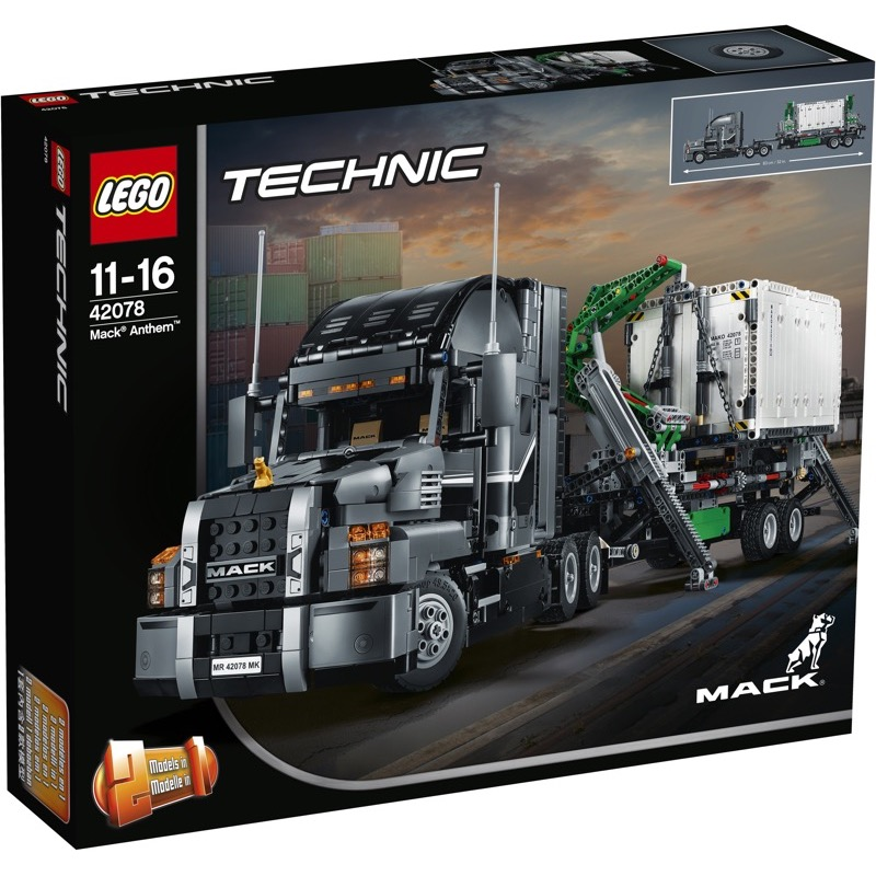 LEGO Technic 42078 เลโก้ Mack Anthem