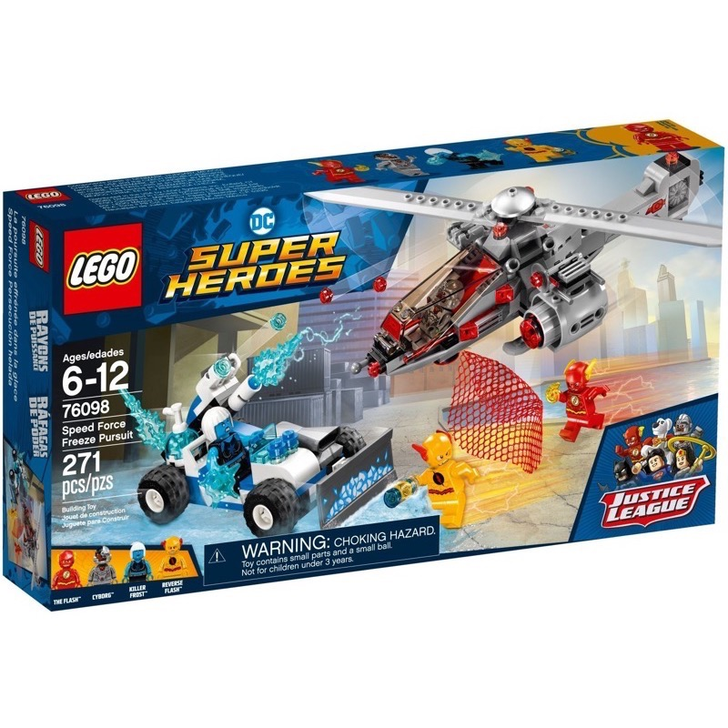 LEGO Super Heroes 76098 เลโก้ Speed Force Freeze Pursuit