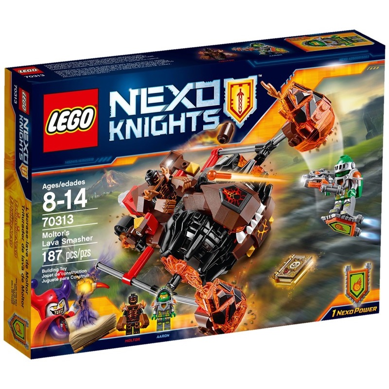 LEGO Nexo Knights 70313 Moltor's Lava Smasher