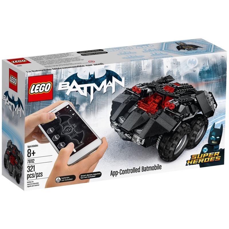 LEGO Super Heroes 76112 App-Controlled Batmobile