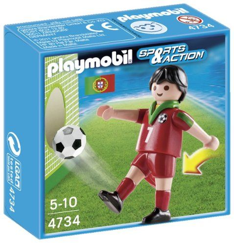 Playmobil 4734 Portugal Soccer Player