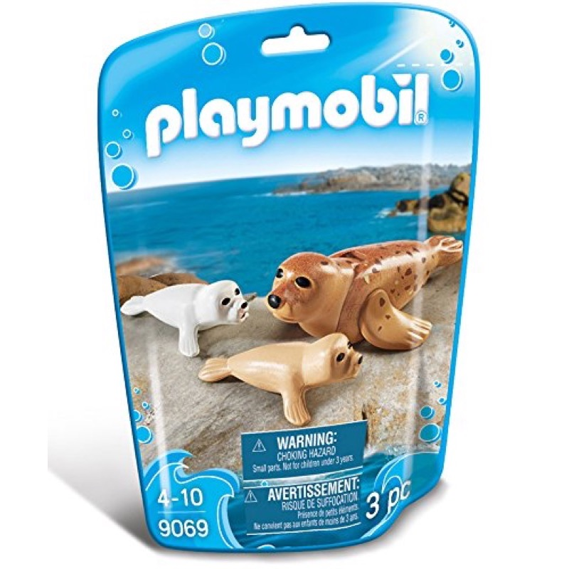 PLAYMOBIL 9069 Seal with Pups