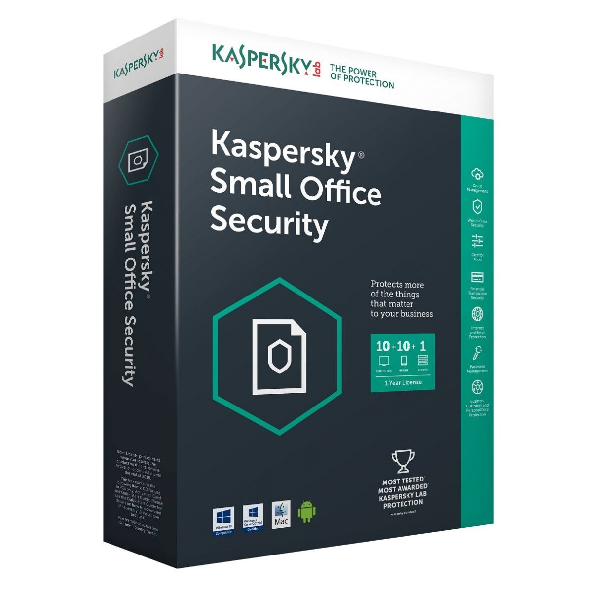 Kaspersky Small Office Security 2017 FPP