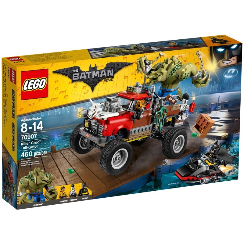 LEGO The Lego Batman Movie 70907 Killer Croc Tail-Gator