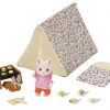 Sylvanian Families 5209 Seaside Camping Set