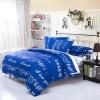 ผ้าปูที่นอน BlueWhite -1