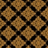 วอลเปเปอร์ลายไทย - ลายประจำยาม สีทอง-พื้นหลังสำดำ