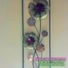 งานเหล็กดัดดีไซน์เก๋ๆรูปดอกไม้ใหญ่ สำหรับประดับตกแต่งบ้าน ขึ้นบ้านใหม่