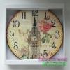 นาฬิกาแขวนติดผนังประดับร้าน สไตล์ Vintage รุ่นหอนาฬิกา