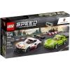LEGO Speed Champions 75888 เลโก้ Porsche 911 RSR and 911 Turbo 3.0