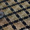 วอลเปเปอร์ลายไทย ลายประจำยาม สีดำ-ทอง