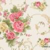 วอลเปเปอร์ลายดอกไม้คลาสสิค สีชมพู