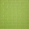 วอลเปเปอร์ 3 มิติ สีเขียวพาสเทล