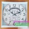 นาฬิกา Vintage ติดผนังตกแต่งบ้าน รุ่น Tea Happy Things