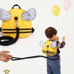 กระเป๋าจูงเด็ก เป้จูงเด็ก รูปผึ้งน้อย สำหรับจูงเด็ก ป้อนกันการพลัดหลง มาพร้อมสายจูง 1 เส้น กระเป๋าเปิดปิดด้วยซิป ใส่ของได้จริง