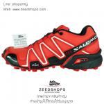 รองเท้า salomon speedcross 3 CS แดง - ส้ม